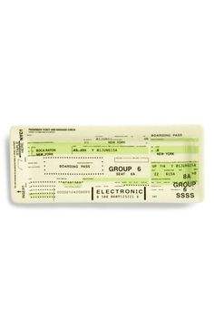 FISHS EDDY Airline Ticket Tray available at #Nordstrom