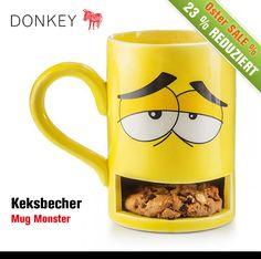 Die ersten 30 min sind immer sind immer die schwierigsten. Doch mit dem #Keksbecher von Donkey Products wird das Aufstehen am frühen Morgen viel erträglicher ;-) ...