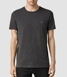 Men's Soul Crew T-Shirt (Washed Black) -