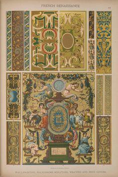 Emil Hochdanz (1816 -1885) — French Renaissance. Historic styles of ornament (1295x1951)
