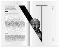 editorial layout Hundia / 2013 Hundia / 2013 by kissmiklos , via Behance Layout Design Inspiration, Page Layout Design, Magazine Layout Design, Graphic Design Layouts, Icon Design, Magazine Layouts, Layout Book, Book Layouts, Photo Book Design