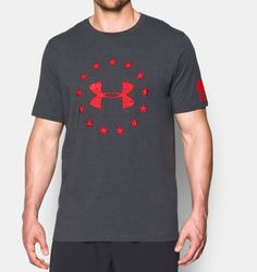 Men's UA Freedom T-Shirt, Carbon Heather