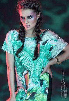 Fashion Tropical Trend Fotografia Carlos Sillero para Revista Solto 85