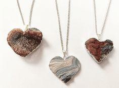 Heart-Shaped Crystal Pendant