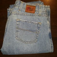 BKE Jeans by Buckle.  Harbor These are Silver Jeans.  The style is Harbor. They're size 28L with a length of about 34 1/2.  They're perfect for all you long legged ladies that need a full hem.  They're old-school but Theyre in good condition considering they're age. They're expensive and quality made jeans at an affordable Price. BKE Jeans Boot Cut