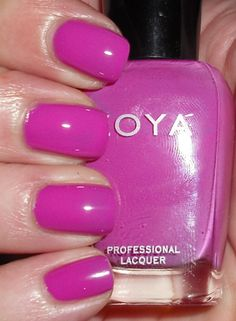 Zoya Audrina. My summer pedi color for the last three years