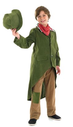 Victorian TINY TIM//Scrooge//Beggar Boy//Urchin//Orphan Fancy Dress ALL AGES /& SIZES