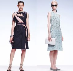 Bottega Veneta 2015 Resort Womens Lookbook Presentation - 2015 Cruise Pre Spring Fashion Pre Collection Italy - Drapery Drawstring Dress Minimalist V-Neck Sweater Jumper Accordion Pleats Mini Skirt Flowers Floral Prints Motif Ornamental Print Decorative Art Chunky Knit Mummy Bandage Wrap Sleeveless Cardigan Frayed Layers Multi-Panel Color Corrosion Dye 3D Embellishment Vertical Stripes Blouse Foliage Leaves Bomber Jacket Outerwear Trench Coat