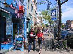 Danforth - Greektown Toronto.    Photo credit: http://worldneighborhoods.com/pictures/toronto-f28/greektown-t171.html