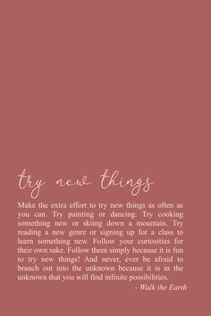 Try new things, stay curious, explore! Inspirational quotes & poetry - Try new things, stay curious, explore! Self Love Quotes, Cute Quotes, Words Quotes, Quotes To Live By, Poetry Quotes, Sayings, Positive Quotes, Motivational Quotes, Inspirational Quotes