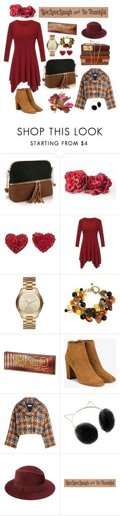 """Untitled #42"" by stars24 ❤ liked on Polyvore featuring Michael Kors, Aquazzura, Sonia Rykiel, LC Lauren Conrad, Saks Fifth Avenue and DutchCrafters"