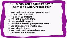 10 Things You Should Never Say to Someone With Fibromyalgia - Counting My Spoons