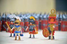 https://flic.kr/p/Bj44QK | Provinciaal Archeologisch Museum Velzeke (Flanders) - Toy legion - 2