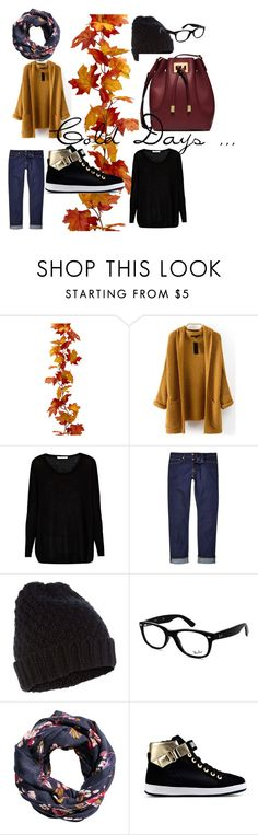 Cold day by izza-andretti on Polyvore featuring moda, Century Seven, Love Moschino, Michael Kors, Ray-Ban, Accessorize and H&M