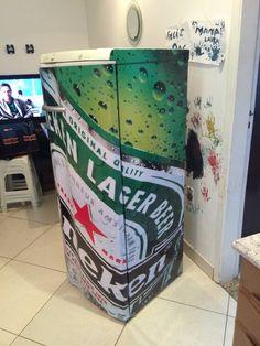 Refrigerador adesivado