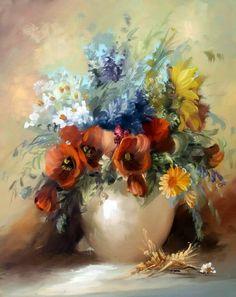 Szechenyi Szidonia, современная венгерская художница Ее живописные, легкие, полные нежной и свежей красоты натюрморты известны далеко за пределами ее родины.