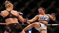UFC Bantamweight Champion Miesha Tate Talks Choke Holds Rousey and What's Next http://on.fb.me/1oVmOSl