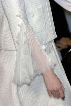 {New Post} Cool Chic Style #Fashion: White on White - #Chanel details