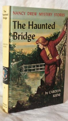 Nancy Drew Mystery The Haunted Bridge Picture Cover by SpaceDucky