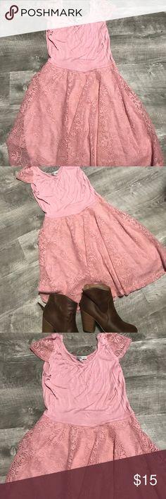 Charlotte Russe dress Mauve colored dress Charlotte Russe Dresses