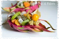 © Popote et Nature - Salade fraîche de fruits exotiques