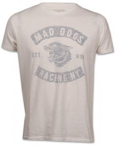 Bowery NYC 26BWTMA922 Herren T-Shirt weiß