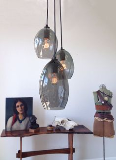 Lamp by Hammersheel on Etsy