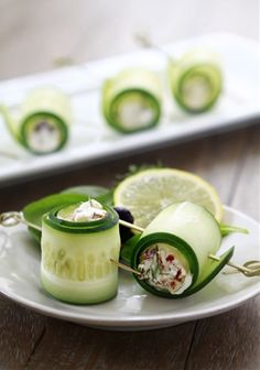 Cucumber+Feta+Rolls