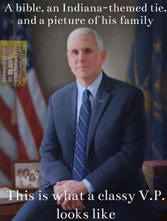 Possibly the BEST Vice President The United States Of America has ever had! Vice President Pence, Trump Is My President, Real Donald Trump, Independance Day, Trump We, First Lady Melania Trump, Political Views, Great Leaders, God Bless America