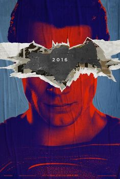 Poster oficial de Batman v superman