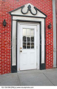 marble brick door - Google Search