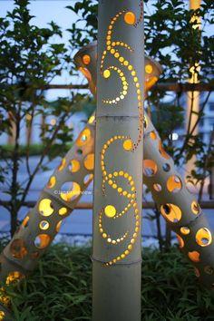 竹あかり、熊本 Bamboo Lighting, Kumamoto http://chikaken.com/index.html