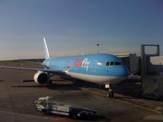 TUIfly at Helsinki-Vantaa. That plane took me and my girlfriend to Greece at August 2011.