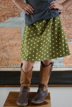 Quicky A-Line Skirts -- when you're bursting at the seams with fabric like I am, sometimes you just want to crank out a bunch of adorable summer skirts!