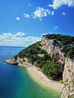 Makarska Riviera, Croatia - favourite drive (Split to Dubrovnik via Makarska), so many beautiful beaches and stunning scenery. Stunning.