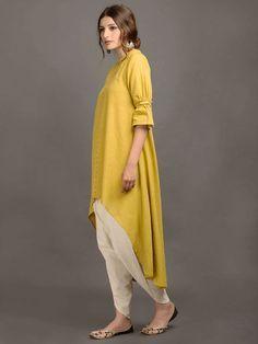 Kurta Designs Women, Blouse Designs, Ethnic Fashion, Indian Fashion, Frock Fashion, Fashion Outfits, Stylish Dresses, Casual Dresses, Indigo Dress