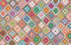 ANTWERP FLOWERS  Soft GP139 Kaffe Fassett by SewColorfulQuilts