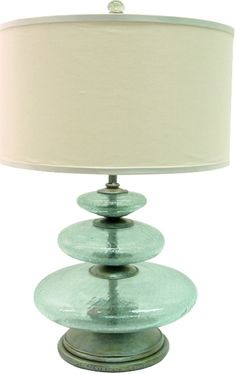 palecek lighting. Palecek Glass Disc Lamp Palecek Lighting