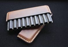 Cigarette case made of genuine leather. Cigarette case made of genuine leather vegetable tanned, hand-painted and artificially aged, impregnated with a waterproof structure, saddle stitched strong seam. Cigarette case designed for 10 cigarettes a length of 3.15 inches (8.5 cm). It