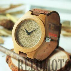 Tanag Bamboo Wood Watch - Relomoto