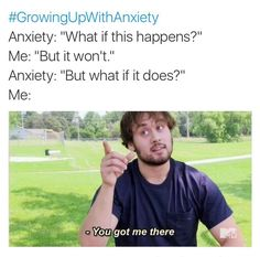 Growing up with anxiety