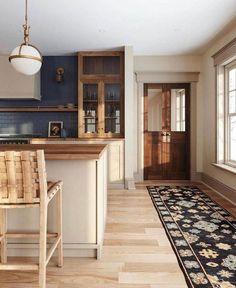 Kitchen Post, Cozy Kitchen, New Kitchen, Kitchen Decor, Green Kitchen, Home Design, Style Me Pretty Living, Cuisines Design, Kitchen Interior
