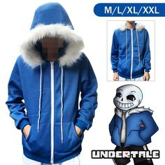 Game Undertale Chara//Frisk Hoodie Jacket Pullover Coat Unisex Sweatshirt#EB-7