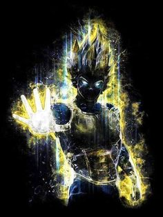 Fear the Prince of all Saiyans