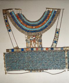 Egyptian  Tutankhamun's corselet from Thebes  c. 1333-1324 BCE  New Kingdom  Egyptian Museum of Cairo
