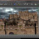 Creating an Ancient Persian City in 3D