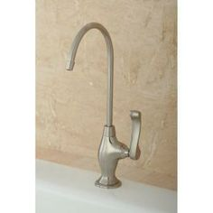 Kingston Brass Replacement Drinking Water Filtration Faucet in Satin Nickel for Filtration Systems-HKS3198FL at The Home Depot