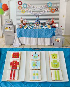 Creative, Colorful & CUTE Robot Party!
