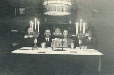 Passover Seder, 15 April 1938. The home of Helene and Rudolf Schwartz, Wiesbaden. When the Nazis came to power in Germany, there were 2,700 Jews living in Wiesbaden. During the Nazi regime, the Jews of Wiesbaden continued their educational activities – both general education and Jewish education – as well as their cultural activities, this despite the restrictions imposed upon them by the authorities.