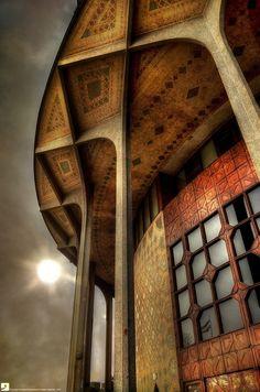 : Ali Sardar Afkhami (Born City Theatre of Tehran Persian Architecture, Beautiful Architecture, Beautiful Buildings, Contemporary Architecture, Art And Architecture, Architecture Details, Iran Travel, Tehran Iran, Persian Culture